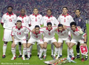 Tunisia Football Team - 2006 FIFA World Cup Courtest of V Greets