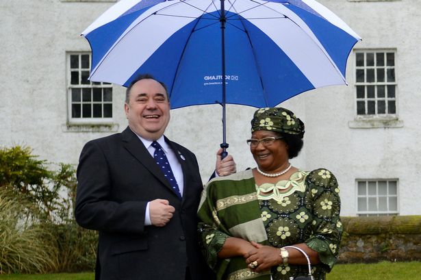lex Salmond marks birth of David Livingstone by announcing new funding for Malawi aid projects