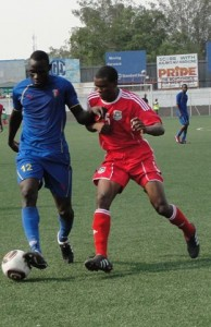 James Sangala- Coming on the day of the game