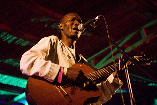 Mawanga in action (Not at the City of Stars)