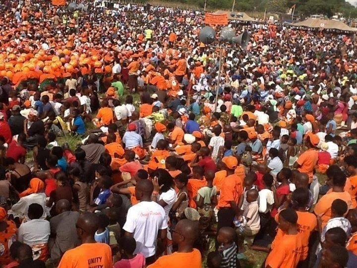 A PP rally in Mangochi
