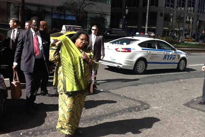 Maybe she needs the help of NYPD