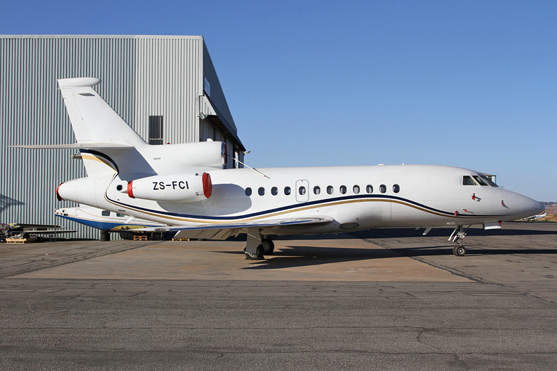 ZS-FCI - Being used by President Banda