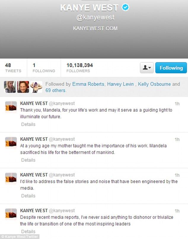 kanye west tweet