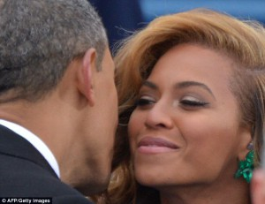 A hot item? Obama and Beyonce