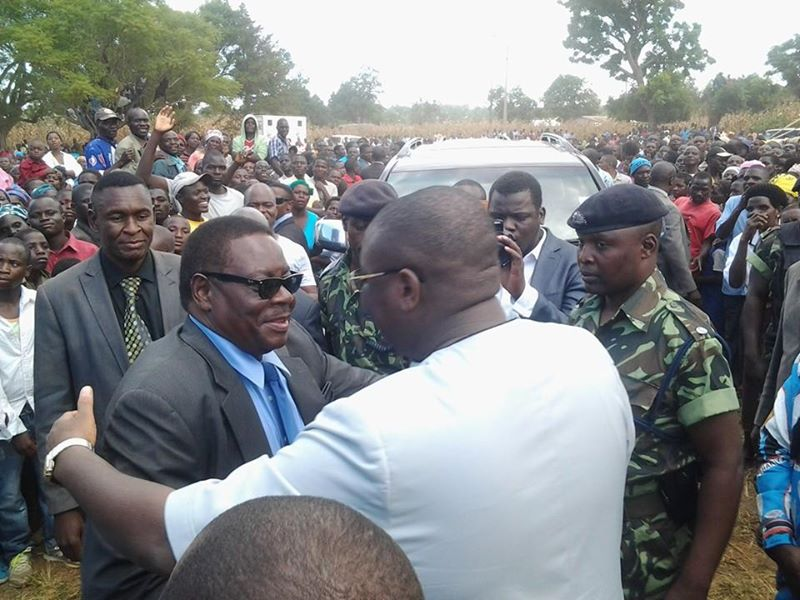 We belong together: Mutharika welcomes Khumbo into DPP as Khumbo welcomes him to Mzimba