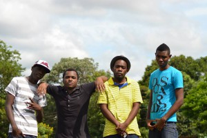 Part of the Freshmans team (from Left to right) Martse,Ak<Fuxy,Chance