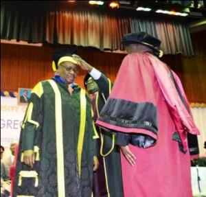 mutharika vice chencellor of UNIMA