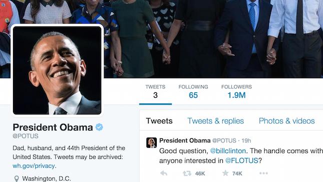 digital news trump first tweet potus obama twitter photo