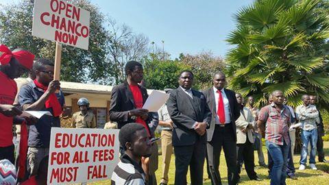 CSOs demonstrations against fee hike 3