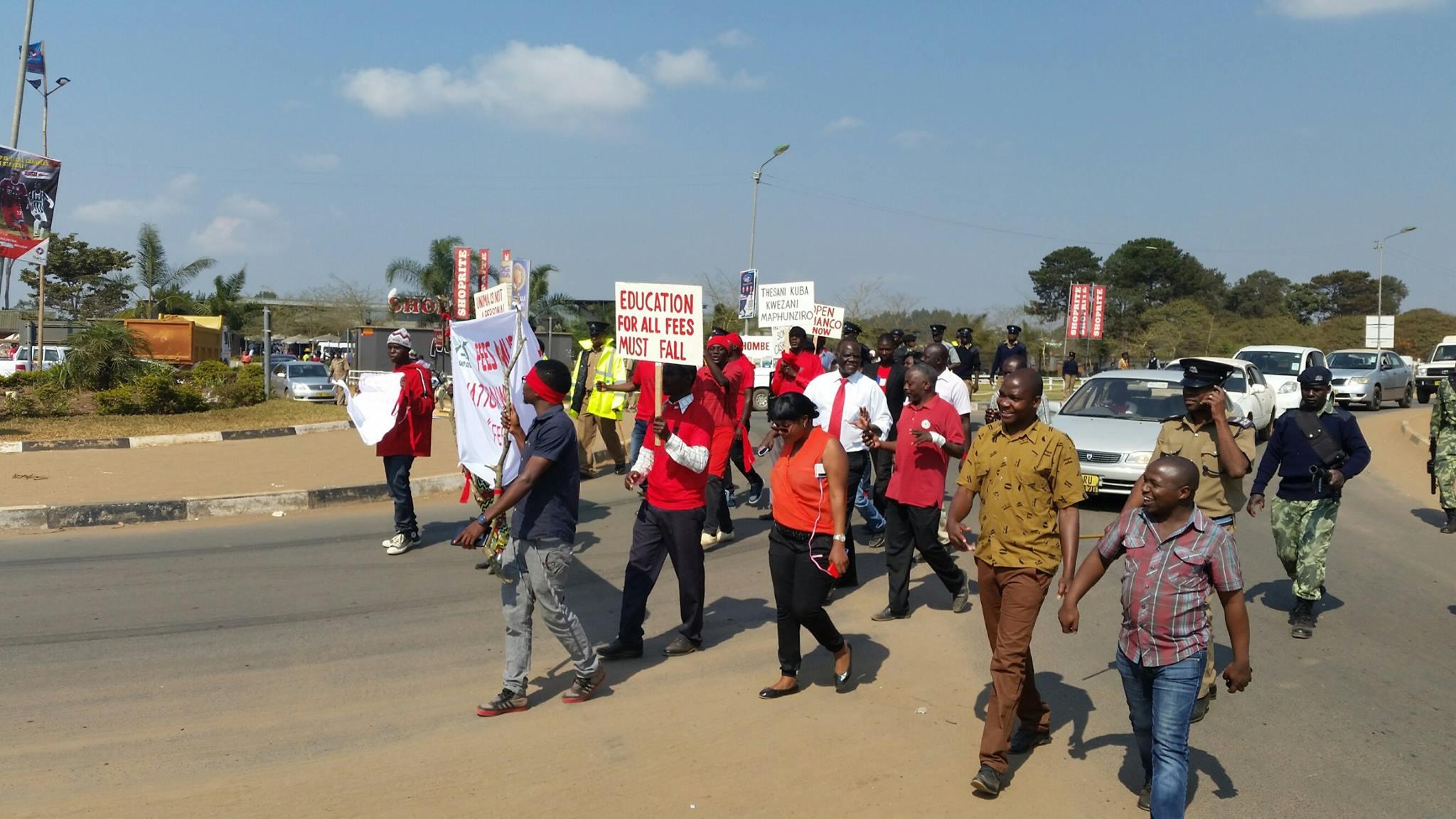 CSOs demonstrations against fee hike