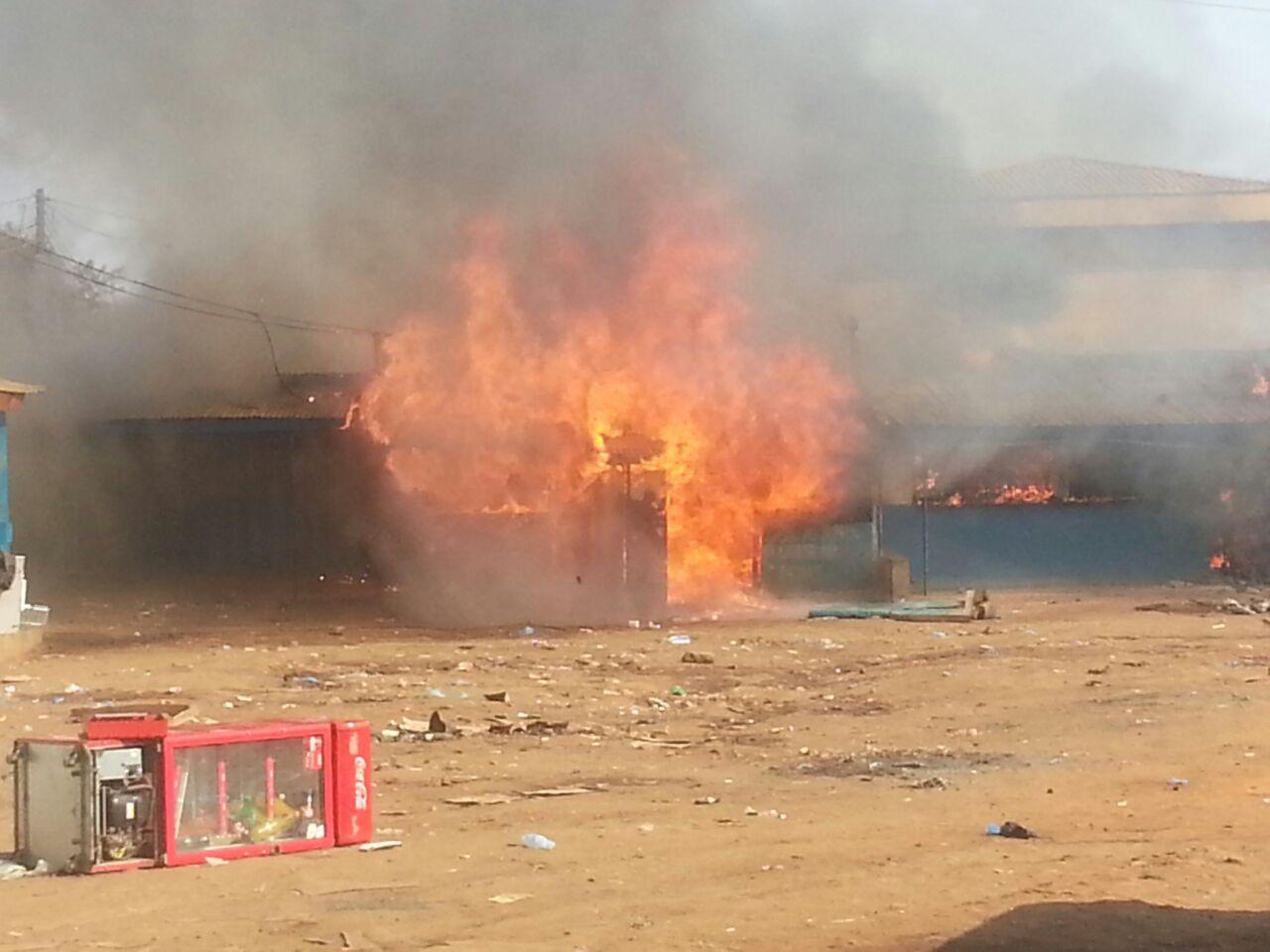 Lilongwe fire 2