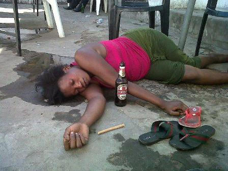 Drunk wife public sex