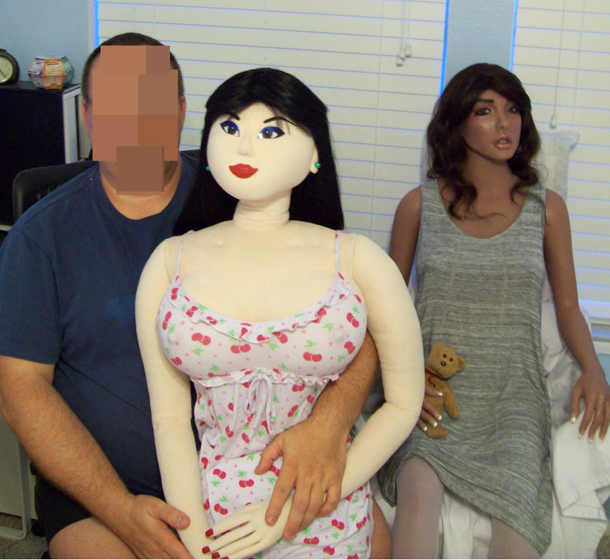 Meet the man who married his sex doll