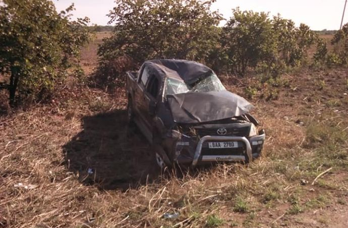 POLICE REPORT ON ROAD ACCIDENT INVOLVING ZAMBIA'S ARTIST