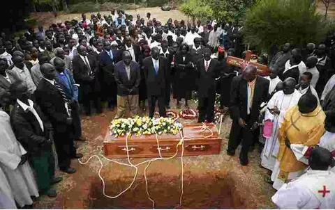 OMG! Dead Man Requests For Drinking Water Before His Casket Is Lowered