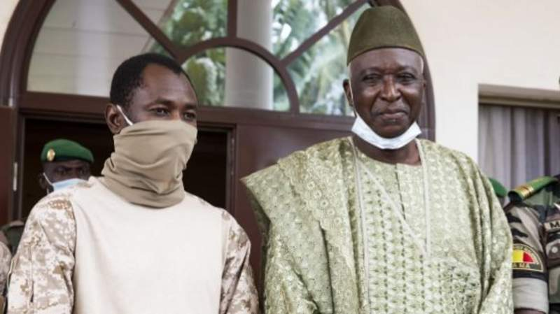 Mali's interim president to be sworn into office