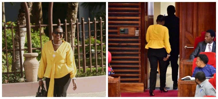 Tanzania Female Member of Parliament Thrown Out From Parliament For Wearing This